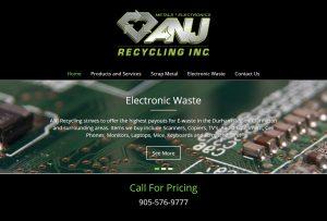 ANJ Recycling Website