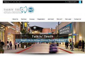 Talkin' Teeth Website
