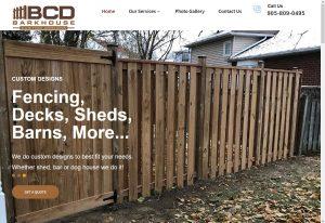 Barkhouse Custom Designzs Website